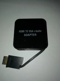 Адаптер HDMI => VGA   Audio
