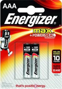 Элемент питания Energizer MAX Power Seal LR03 BL2